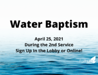 Copy of Water Baptism